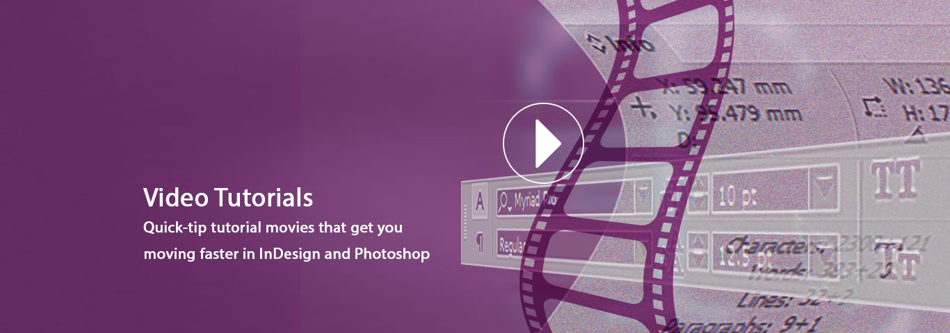 indesign training screenshots banner